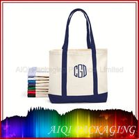 NEW STYLE madras check fabric cotton bags/canvas packaging bag