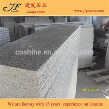 Bianco sardo G640 de la escalera de granito gris paso