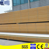 Polyurethane cold storage panels with cam lock for cold room construction