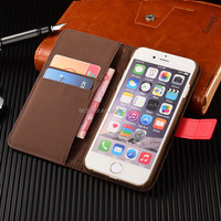 4 colors Selection New Case Folio Leather PU Case for iphone 6 4.7 inch,Leather Mobile Phone Folio Style For iphone 6 PU Case