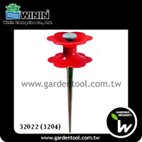 Flower Hose Roller Guide With Metal Spike for Garden Watering