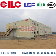 CILC Sandwich panel modular steel structure container house, office container, flatpacked