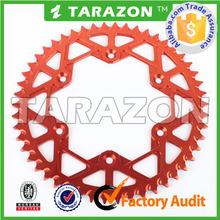 TARAZON Brand CNC Billet Aluminum Rear Sprocket for Motorcross Offroad Bike Dirt Bike