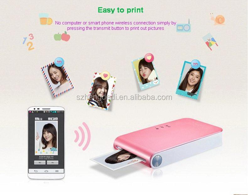 Imprimante Pour Photo Photo de Poche Pour Iphone