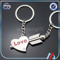 Cheap Heart Shape Key Chain