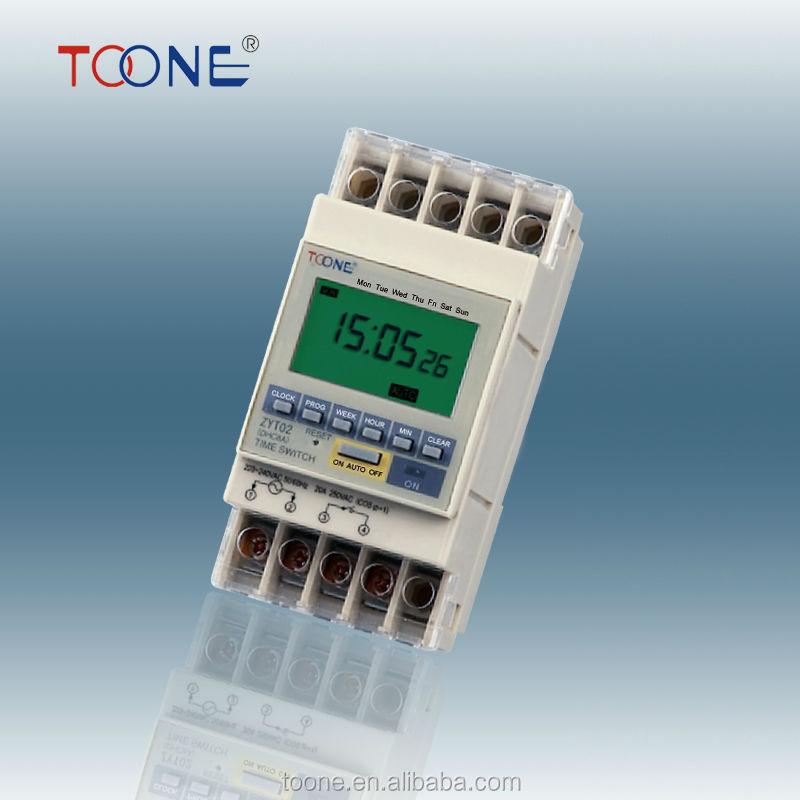 Zyt02 lcd programmierbaren automatische lichtschalter 12v relais-timer