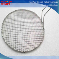 Disposable bbq Grill Wire Mesh, Korean bbq Grill Table for Sale