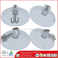 high quality glass mini table suction cups