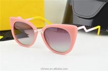 Italian Brand Name Fashion Sunglass Gradient Sunglasses 2015 CE/FDA