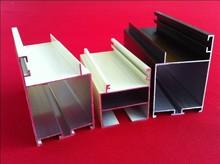 Perfil de aluminio para ventanas de vidrio corredizas