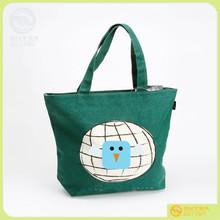 we are factory supply Printed logo made in china Lady handbag , Tote Bags single shouler canvas bag