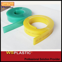 high wear resistant silicone squeegee blade for screen printing