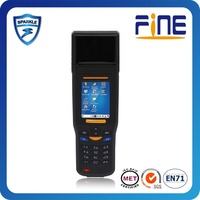 Touch Screen Handheld Mobile Phone with Fingerprint Reader and RFID UHF- M8