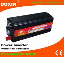 dc to ac convert modified sine wave 3000w 12v to 220v inversor