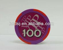 First-class poker chips,13.5g poker chips,Custom poker chips