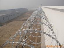 BTO-12 hot dip galvanized razor wire installation/razor barb wire