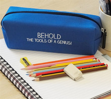 Factory Directly Wholesale Zippered Pencil Bag for Kids
