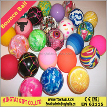 Manufacture 2015 Wholesale Economic Bounce Ball/All Sizes and Designs of Bouncing ball