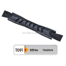 cheap & fine functional eco-friendly soft plastic & webbing handle for bags,toys or trolly cases,case handle