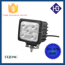 2015 Top selling 50W auto led worklight /led machine work light