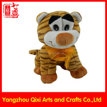 Lovely cute stuffed animals plush soft toy tiger pattern