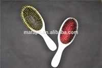 hair brushes with natural bristles large round hairbrush hair combs wooden comb plastic comb