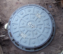 ductile cast iron manhole covers round security manhole cover/well lid