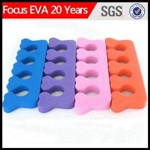 eva toe separator/toe nail separator/toe seperator for nail salon