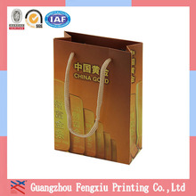Glossy Black Cutlery Exquisite Paper Bag