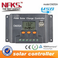 THE LOWEST PRICE !!! AUTO PWM 25A SOLAR LIGHT CONTROLLER 12V 24 V LCD