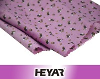 China Supplier 2016 New Textile 100% Cotton Flower Patterned Printed Thin Muslin Fabrics Wholesale