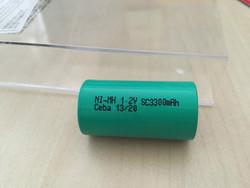 CEBA battery 1.2v SC 3300mah Ni-Cd Rechargeable Battery