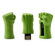 2015 Product green usb flash drives 64mb to 64GB usb flash drive metal fist usb stick bulk cheap