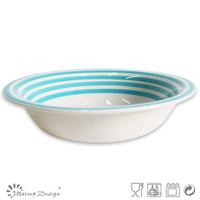 Homeware Hand Painted Ceramic Soup Bowl