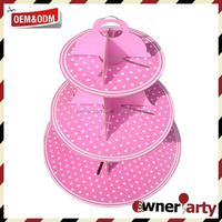 High Quality Popular Collapsible Cupcake Stand