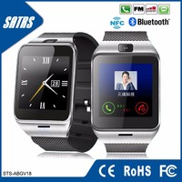 New Product Smart Watch GV18 Aplus Smartwatch NFC Reloj Support SIM 1.3M Camera Bluetooth android smart watch phone