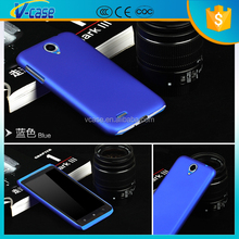 Plastic Hard Case Slim Fit Matte Back Phone Cover for Lenovo S850 A850+