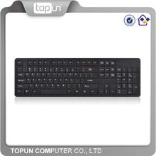Multi language layout Ultra slim wired computer keyboard