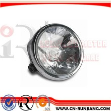 Street Bike Motorcycle Accessories 7 Inch Round Type Headlight For YAMAHA YBR125
