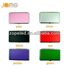 metal boxes for cigarette ,aluminum cigarette pack cover for women