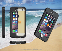 High quality waterproof mobile phone case for iphone 6 6s 6plus CO-WPF-107