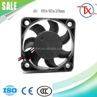 40mm 4010 40x40x10 12v 24 volt small mini dc fan (TX4010HS) axial 12 volt air cooling fan