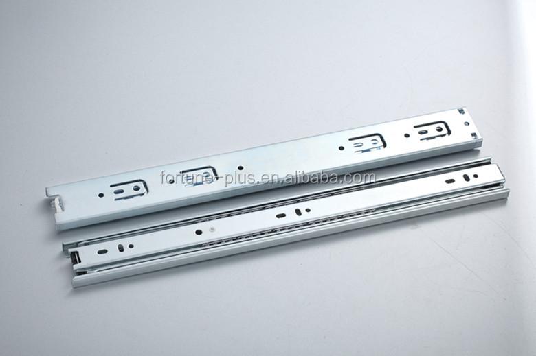 ct4515 45mm 3 주름 부엌 캐비닛 서랍 슬라이드 슬라이드 레일 잠금 ...