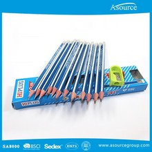 Standard HB Wooden Pencil With Free Sharpener