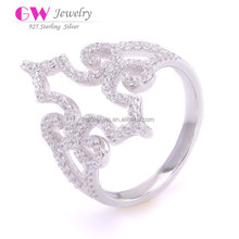 Fashion Chinese Jewellery Micro Pave Rings Wholesale