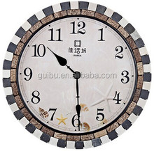 beautiful sea new creative and very modern style wall clock for living room decor YL