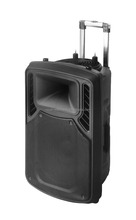 loudspeaker active audio speaker box with Bluetooth, light,Mic,Sceen, DVD functions ---with certifications e