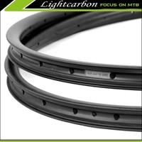 EMS free shipping! LIGHTCARBON 2015 off set rim for mountain bicycle 29er carbon mtb offset rim