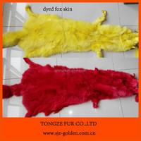 High quality China origin fox fur pelt for sale