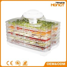 Grade Rectangle Electric panel Food Dehydrator